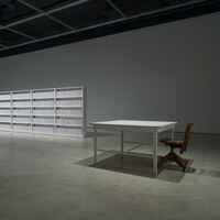 168:01-A Library Rising from the Ashes, Wafaa Bilal