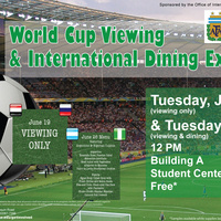 World Cup Viewing & International Dining Experience