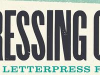 Pressing On: The Letterpress Film - screening