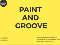 Paint And Groove
