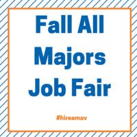 Fall All-Majors Job Fair featuring the Sales and Marketing Job Fair