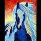 Sapphire Stallion ~ KIDS & FAMILY PAINT CLASS!