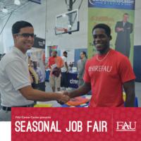 Seasonal Job Fair Presented by the FAU Career Center