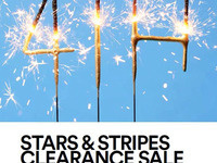 Stars & Stripes Clearance Sale
