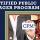Continuing Education: Certified Public Manager: 2018-2019