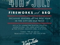 Fourth of July at King Tide Fish & Shell