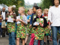 Kids Cook at the Market: Vegetable Fritters