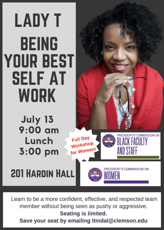 WOMEN'S WORKSHOP: Being Your Best Self at Work