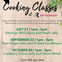 Cooking Classes at Rattlewood