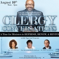 Clergy Conversations:  Refresh, Renew and Revive