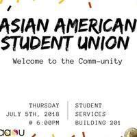 Asian American Student Union GBM