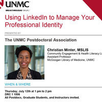 Using LinkedIn to Manage Your Professional Identity
