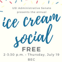 Administrative Senate Ice Cream Social