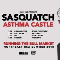 Sasquatch, Asthma Castle, Thought Eater, Haze Mage at the Ottobar!