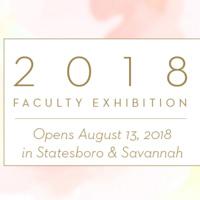 2018 Faculty Exhibition