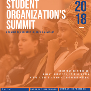 2018 OSLD Student Organization Summit