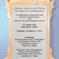 Climate Science and Policy through the Looking Glass
