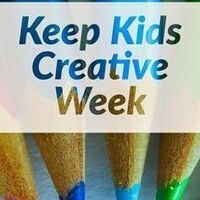 Keep Kids Creative Week: Painting