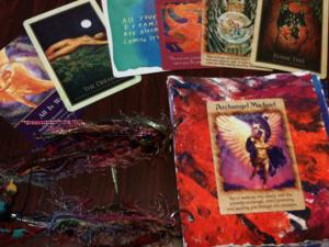 Oracle Card Journaling
