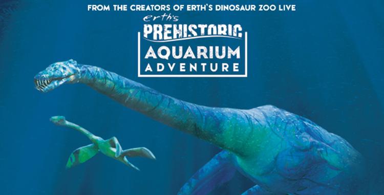 Tri-ART:  Erth's Prehistoric Aquarium Adventure