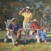 'On the Human Figure — Head and Hands' Summer Painting Workshop with Curney Nuffer