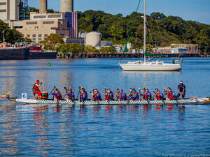 Port Jefferson Dragon Boat Race Festival