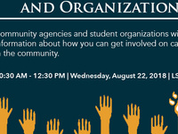 Volunteer Opportunities & Organizations Fair