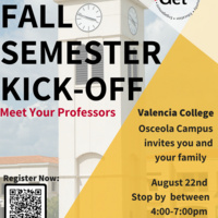 Fall Semester Kick Off - Osceola Campus