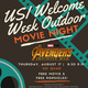Outdoor Movie and Popsicles with APB & FSL