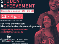 Black Student Achievement Fall Open House