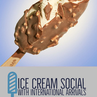 Ice Cream Social with International Arrivals