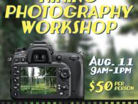 Hiking Photography Workshop