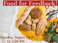 Food for Feedback - August!