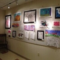 Teen Art Show Opening @ LM