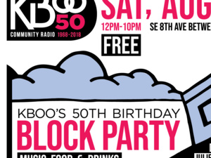 KBOO'S 50th Birthday Block Party