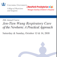 28th Annual CME Course: Respiratory Care of the Newborn: A Practical Approach