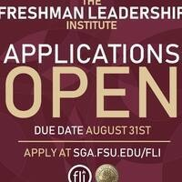 Freshman Leadership Institute Application