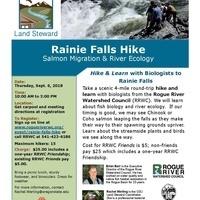 Rainie Falls Hike: Salmon Migration & River Ecology
