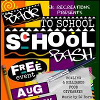SIL Recreations Back 2 School Bash