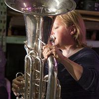 Beth Mitchell; tuba