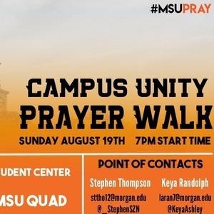 Campus Unity Prayer Walk