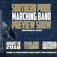 Southern Pride Marching Band Preview Show