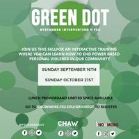 Green Dot Bystander Student Training