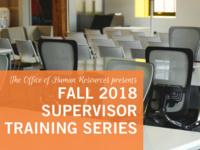 Supervisor Training Series - Difficult Conversations