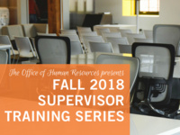 Supervisor Training Series - Building an Effective Team