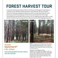 Forest Thinning Tour