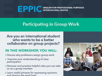Participating in Group Work