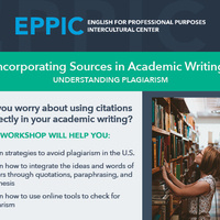 Incorporating Sources in Academic Writing: Understanding Plagiarism
