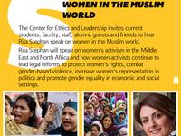 CEL Speaker Series: Rita Stephan on Women in the Muslim World