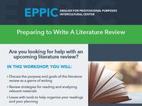 Preparing to Write a Literature Review